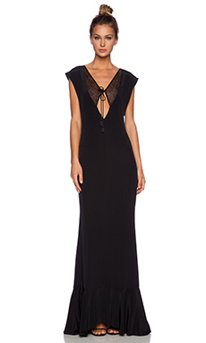 Carmella Vera Maxi Dress in Black