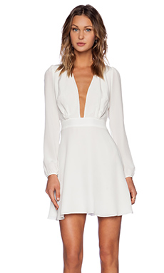 Carmella Michli Dress in White