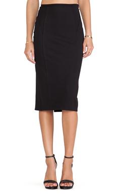 Carmella Alma Pencil Skirt in Black