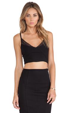 Carmella Ludi Crop Top in Black