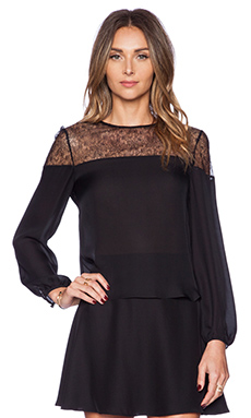 Carmella Luciana Blouse in Black