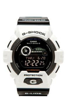 G-Shock GWX8900 in White/Black