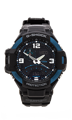 G-Shock GA1000-2B Gravity Master in Blue & Black