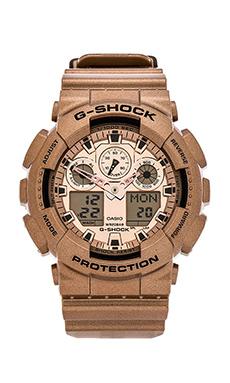 G-Shock GA100GD-9A in Rose Gold