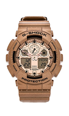 G-Shock GA100GD-9A in Rose Gold