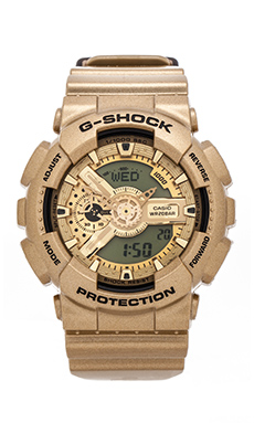 G-Shock GA110GD-9A in Light Gold