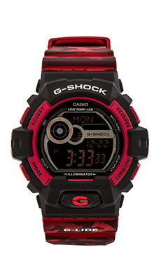 G-Shock Winter G-Lide in Red Camo