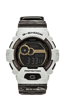 G-Shock Winter G-Lide in Green Camo