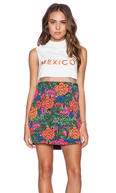 Casper & Pearl Mexico City Dress Print in Floral