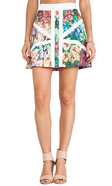 Casper & Pearl Modern History Skirt in Floral