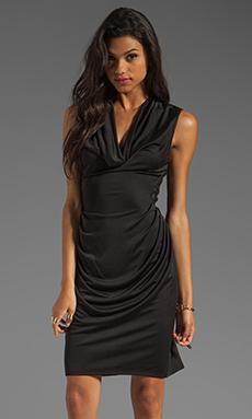 Catherine Malandrino Fishnet Dress in Black
