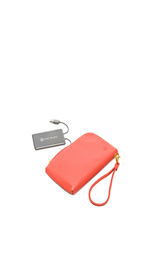 Chic Buds Courtney Clutchette in Coral