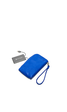 Chic Buds Gwen Clutchette in Cobalt
