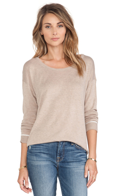 C&C California Dolman Sweater in Oatmeal Heather