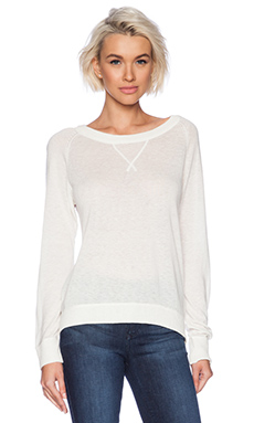 C&C California Cashmere Blend Sweater in White