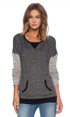 C&C California Sweater SLV Tunic in Black