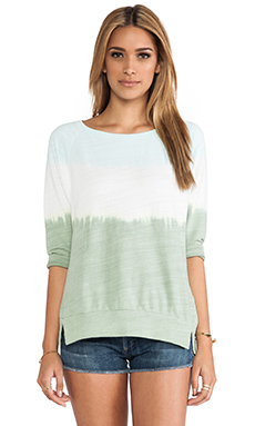 C&C California Dip Dye Sweatshirt in Clearwater