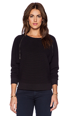 C&C California Ottoman Sweatshirt in Black