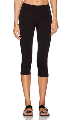 C&C California 3/4 Legging in Black