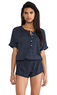 C&C California Romper in Navy