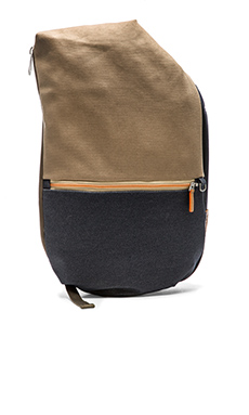 Cote & Ciel Isar Multi Touch Safari in Taupe Grey & Indigo Denim