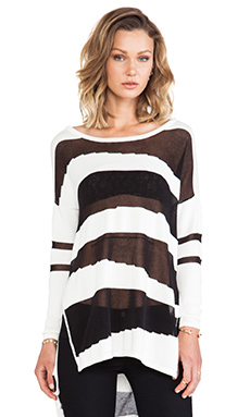 Central Park West Haifa Sweater in Black