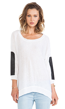 Central Park West Mumbai Pullover in White