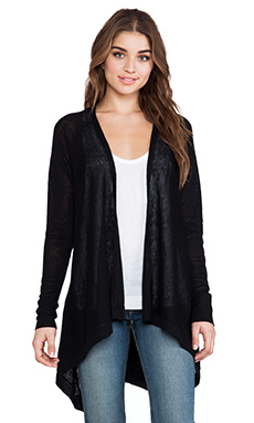 Central Park West Mumbai Cardigan in Black