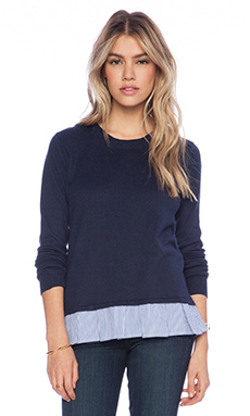 Central Park West Riverside Drive Sweater in Navy