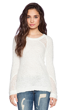 Central Park West Vandam Sweater in Ivory