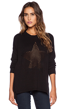 Central Park West Nashville Star Sweater in Black