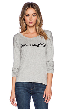 Central Park West San Antonio Bon Voyage Sweater in Heather