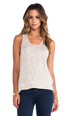 Central Park West Rhodes Asymmetric Hem Tank in Natural