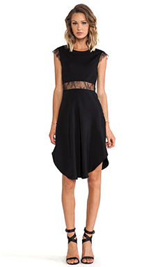 CHALK 6th Dress in Black