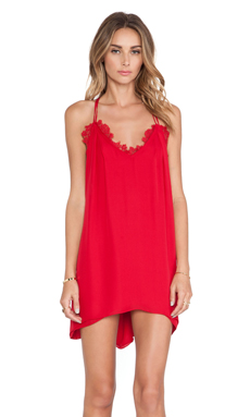 CHALK Kings Dress in Red
