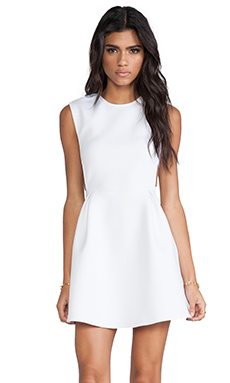 CHALK Neoprene Field Dress in White
