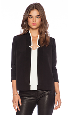 CHALK Median Blazer in Black