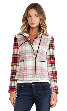 CHALK Bit Jacket in Plaid