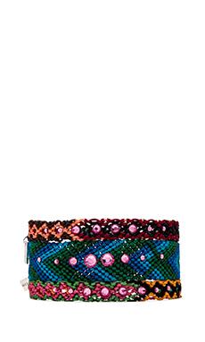 CHAN LUU Friendship Bracelet Set in Rose