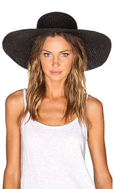 Cheap Monday Summer Straw Hat in Black
