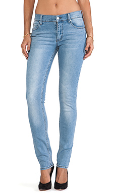 Cheap Monday Tight Skinny in Stonewash Blue
