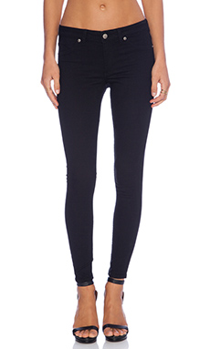 Cheap Monday Mid Spray Jean in Black
