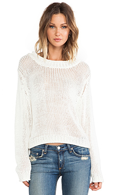 Cheap Monday Tape Sweater in Paste White