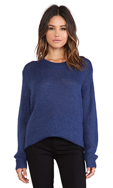 Cheap Monday Vast Knit Sweater in Truth Blue