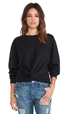 Cheap Monday Knot Sweater in Black