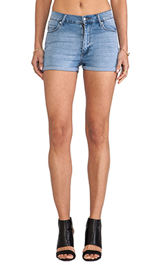 Cheap Monday Short Skin in Stonewashed Blue