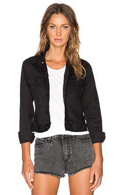 Cheap Monday Vital Denim Jacket in Rinse Black