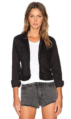 Cheap Monday Vital Denim Jacket in Rinse Black