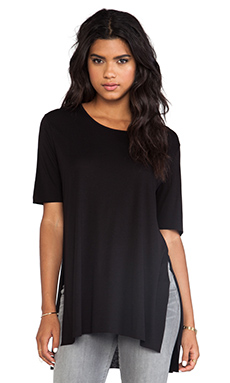 Cheap Monday Slow Tee in Black
