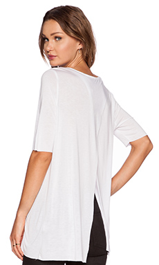 Cheap Monday Enfold Top in White